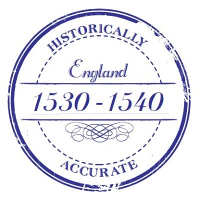 """Historically accurate"" stamp on patterns"