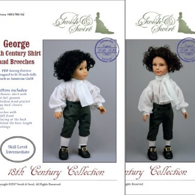 18th Century Shirt and Breeches for boys dolls