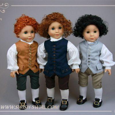 George. 18th century waistcoats