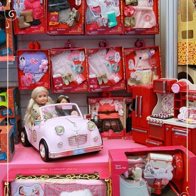 Our Generation dolls at the Toy Fair 2018