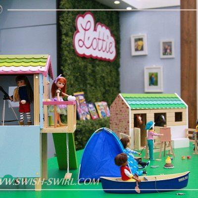 Куклы Lottie на Выставке игрушек 2018