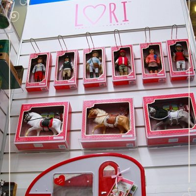 Lori dolls at the Toy Fair 2018
