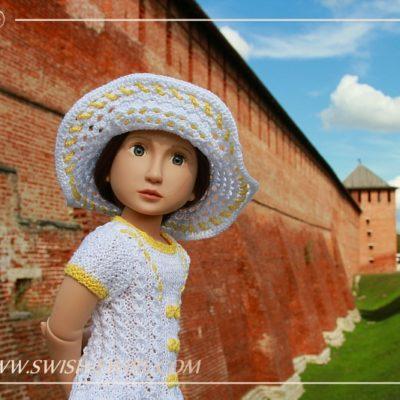 Анастасия возле Коломенского Кремля