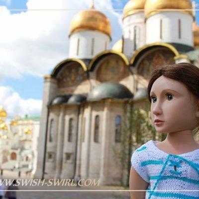 Анастасия в Московском Кремле